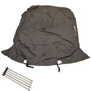 Sun Tracker Boat Mooring Cover 184454   Party Barge 16 Charcoal