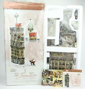 Department 56 - The Times Tower 2000 Christmas In The City Special Edition New
