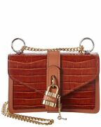 Aby Chain Mini Leather Shoulder Bag Women's