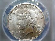 1922 S Peace Silver Dollar 1 Anacs Ms63 East Coast Coin And Collectables Inc.