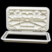 Innovative Product Solutions 520-133 11 X 19 Arctic White Boat Deck Hatch