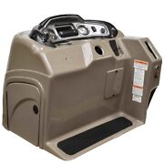 Tracker Boat Steering Console F144324747 | 38 1/2 X 35 1/2 Inch Taupe
