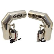 Chaparral Boats Kandb Performance Ss Marine Boat Electric Exhaust Diverter Pair