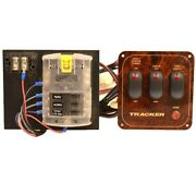 Blue Sea Boat Switch Panel With Fuse Block 5025   Tracker 32v 30 Amp