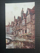 Kent, Canterbury, The Weavers Pc, Used, No Stamp, Photochrom