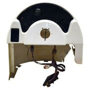 G3 Pontoon Boat Steering Center Console | Off White W/ Switches Fiberglass