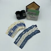 View-master Stereoscope Vintage 3d Viewer W/box 20 Reels Hawaii National Parks