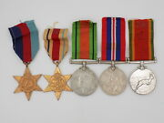 Original Wwii South African Native Soldier Medal Grouping - Named