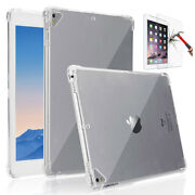 For Apple Ipad Air 3rd 10.5inch 2019 Clear Soft Tpu Case 9h Tempered Glass Us