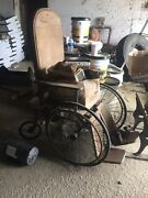 Wwii Vintage Gendron Wheel Company Wheel Chair
