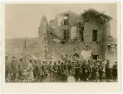 Original Wwi Aef Signal Corps Photo, 4th Division Ymca At Cuisy