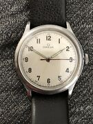 40and039s Ww2 Vintage Omega Military Watch 2179 30t2 Rare Stainless Original Dial