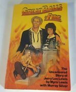 Great Balls Of Fire Uncensored Story Jerry Lee Lewis 1982 1st Quill Edition