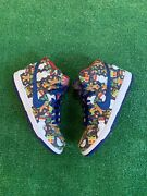 Size 8 - Nike Sb Dunk High Pro X Concepts Ugly Christmas Sweater 2017 881758-446