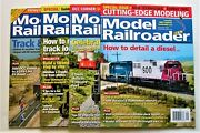 4 Issues Of Model Railroader Magazine--nov 2007, Jul 2017, Aug And Sep 2020