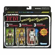 Star Wars Vintage Collection Tatooine Skiff Guard 3-pack Tvc 3.75 Rotj Special