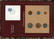 Coin Sets Of All Nations Uae United Arab Emirates Unc 1973-1986