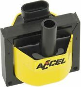Accel 140024 Remote Mount Super Coil Ignition Controlled Hei Systems Yellow New