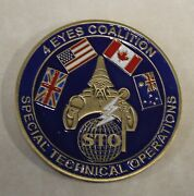 Norad 4 Eyes Spying Special Technical Operations Sto Air Force Challenge Coin
