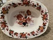 Almost Antique Vintage Rare Royal Cauldon 9andrdquo Magestic Oval Vegetable Bowl