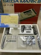 Sega Mark Iii 3 Main Game Console Body & Accessories With Box Used Vintage 1985