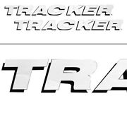 Tracker Logo Boat Decals Pair