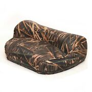 Crestliner Boat Casting Fishing Seat 2131981   Shadow Grass Camouflage