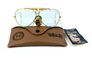 Nos Ray-ban Shooter Sunglasses Vintage Bandl Usa Changeables Photochromic Lenses