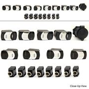Carling 17 Piece Boat Rocker Switch Set With Mechanical Products Inc. Breakers