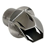 Corsa Boat Exhaust Tip | Sea Ray 3 1/2 Inch Stainless