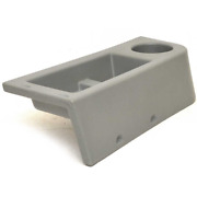 Tracker Boat Cup Holder Panel   21 X 7 1/4 X 4 5/8 Inch Gray