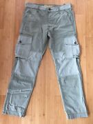 Menandrsquos True Religion Special Ops Cargo Pants Army Olive Green 34x31.5 Nwot