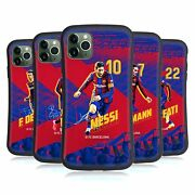 Fc Barcelona 2020/21 First Team Group 1 Hybrid Case For Apple Iphones Phones