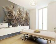 3d Vintage Butterfly Flower 1718na Wallpaper Wall Murals Removable Wallpaper Fay