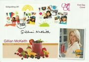 2 Feb 2010 Girl Guiding M/s Fdc Hand Signed By Guide And Diet Guru Gillian Mckeith