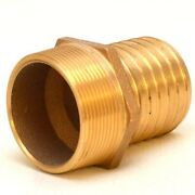 Perko Boat Pipe To Hose Adapter 0076009plb | Bronze 2 Inch