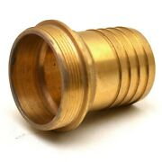 Doral Boat Adapter Fitting | Pipe To Hose 2 1/2 Inch Brass