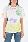 Vetements Men Women T-shirts And Tops Jersey T-shirt With Print Multicolor