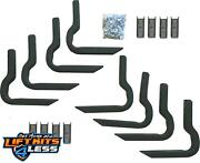 Rampage 14700 Side Bar Mounting Brackets For 2004-06 Toyota Tundra Extended Cab