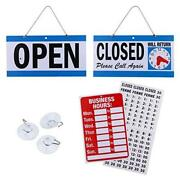 Business Hour Open Closed Sign – Bundle Of Office Hours Sign Will Return Clock W