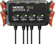 Noco Genius 4 Bank 2x4 Charger Mantainer For 6 Or 12 Volt Lead Or Acid Battery
