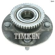For Nissan Altima Rear Set Of 2 Differential Bearing Set Timken Ha590047
