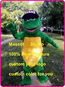Turtle Mascot Costume Suit Cosplay Game Dress Outfit Advertising Halloween New