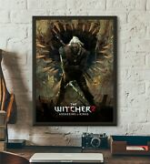 The Witcher 2 Assassins Of Kings Cover Video Game Home Decor Poster