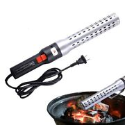 Bbq Grill Fire Starter Electric Charcoal Lighter Barbecue Smoker Outdoor Tools