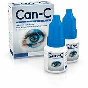 Can-c Lubricant Eye Drops With N-acetylcarnosine 2 X 5 Ml Fresh Free Shipping