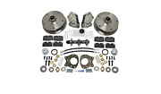 Complete Front Disc Brake Conversion Kit - T2 Bus 1967 Only - Designed For Stock