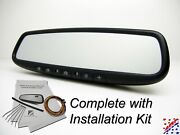 Complete Gentex Auto Dimming Homelink Compass Rearview Rear View Mirror Kit
