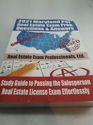 2021 Maryland Psi Real Estate Exam Prep Study Guide Questions And Answers