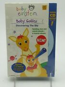 Baby Einstein Baby Galileo Discovering The Sky. Sealed Vhs W/ Cd